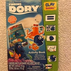 Finding dory clay set